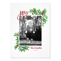 Holiday Photo Card *Little Big Joy*