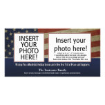 Holiday Photo Card - Patriotic or Military Theme