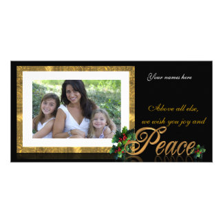 Holiday Photo Card Peace