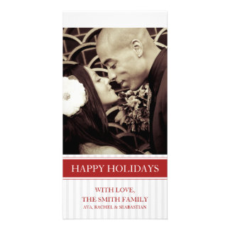 HOLIDAY PHOTO CARD STRIPES