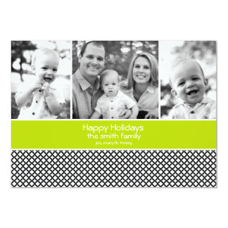 Holiday Photo Card with 3 photos