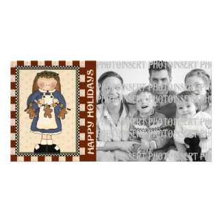 Holiday Photo Cards - Gingerbread Man