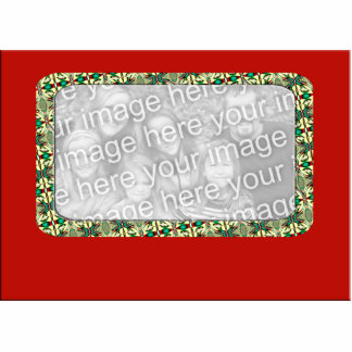 Holiday Photo Frame Statuette