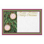 Holiday Photo Frame Writing Stationery