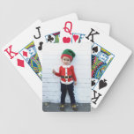 Holiday Photo Large Easy to Read Bicycle Playing Cards