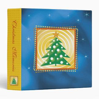 Holiday Photo Memories | Christmas Tree 3 Ring Binder
