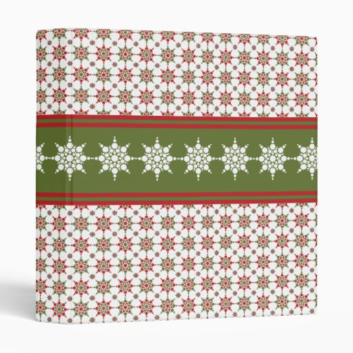 Holiday Photo Or Recipe Binder For Christmas
