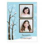 Holiday Photo Postcard