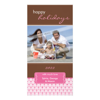 HOLIDAY PHOTOCARD :: spotted bracket P3 Card