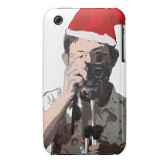Holiday Photographer iPhone 3 Case-Mate Case