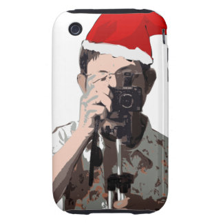 Holiday Photographer Tough iPhone 3 Cover
