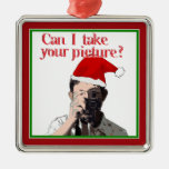 Holiday Photographer - Cheesy Pick-up Line Ornaments