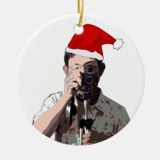 Holiday Photographer Christmas Ornaments