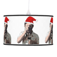 Holiday Photographer Pendant Lamp