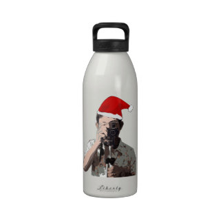 Holiday Photographer Reusable Water Bottle