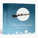 Holiday Photographs Santa Vinyl Binder