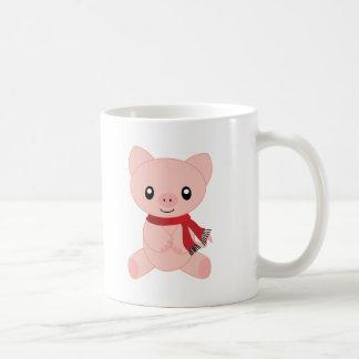 Holiday Piggy Coffee Mug