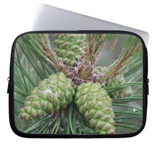 Holiday Pine Cones Laptop Computer Sleeves