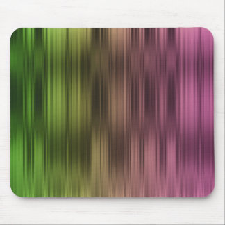 Holiday Pink Green Stripes Mouse Pad