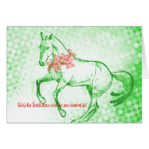 HOLIDAY PIROUETTE 5x7 GREETING CARD
