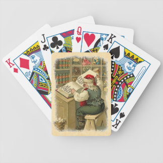 Holiday Playing Cards Vintage Naughty Nice List