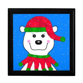 Holiday Polar Bear Jewelry Box