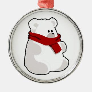 Holiday Polar Bear Christmas Tree Ornaments