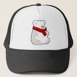 Holiday Polar Bear Trucker Hat