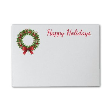 Christmas Themed Holiday Post-it-Notes Post-it Notes