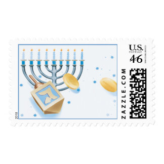 Holiday © postage stamp