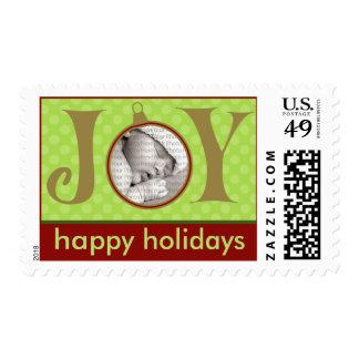Holiday Postage Joy Photo (medium) :: Green