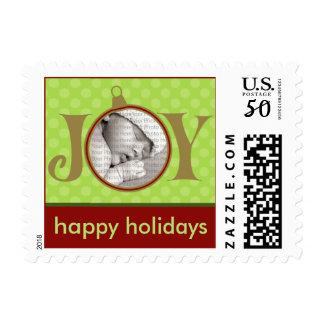Holiday Postage Joy Photo (small) :: Green
