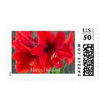 Holiday postage stamps