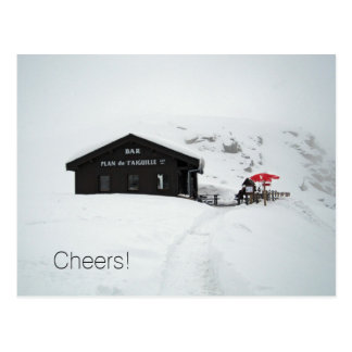 Holiday Postcard - Cheers from the Alps
