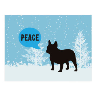 Holiday Postcards - Frenchie