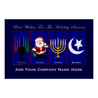 Holiday Poster (Insert Your Company Name)