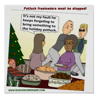 Holiday Potluck Posters