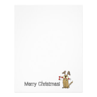Holiday Puppy Letterhead