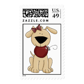 Holiday Puppy Postage