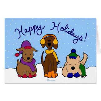Holiday Pups Card