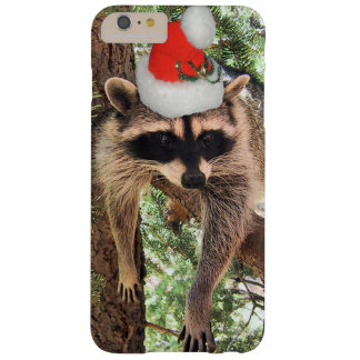 Holiday Raccoon Barely There iPhone 6 Plus Case