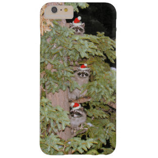 Holiday Raccoons Barely There iPhone 6 Plus Case