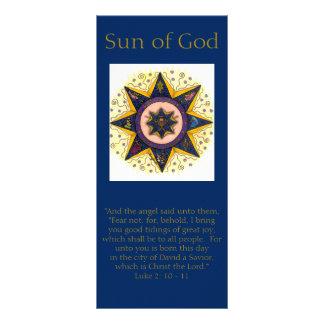 Holiday Rack Cards - Sun of God