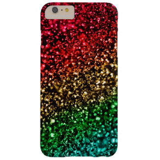 Holiday Rainbow Glitter iPhone 6 Plus Case