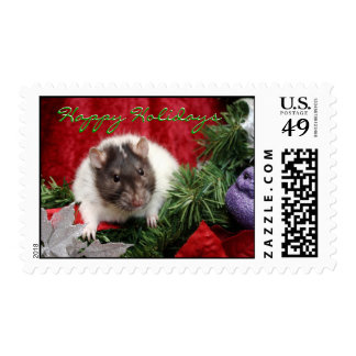 Holiday Rat Stamps