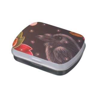 HOLIDAY RAVEN CROW JELLY CANDY TIN