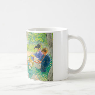 Holiday Reading by Carl Larsson Coffee Mug