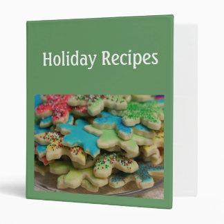 Holiday Recipe Album Binder