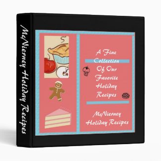 Holiday Recipe Binder
