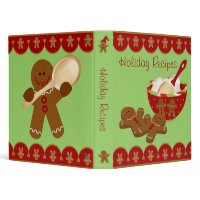 Holiday Recipe Binder - 1